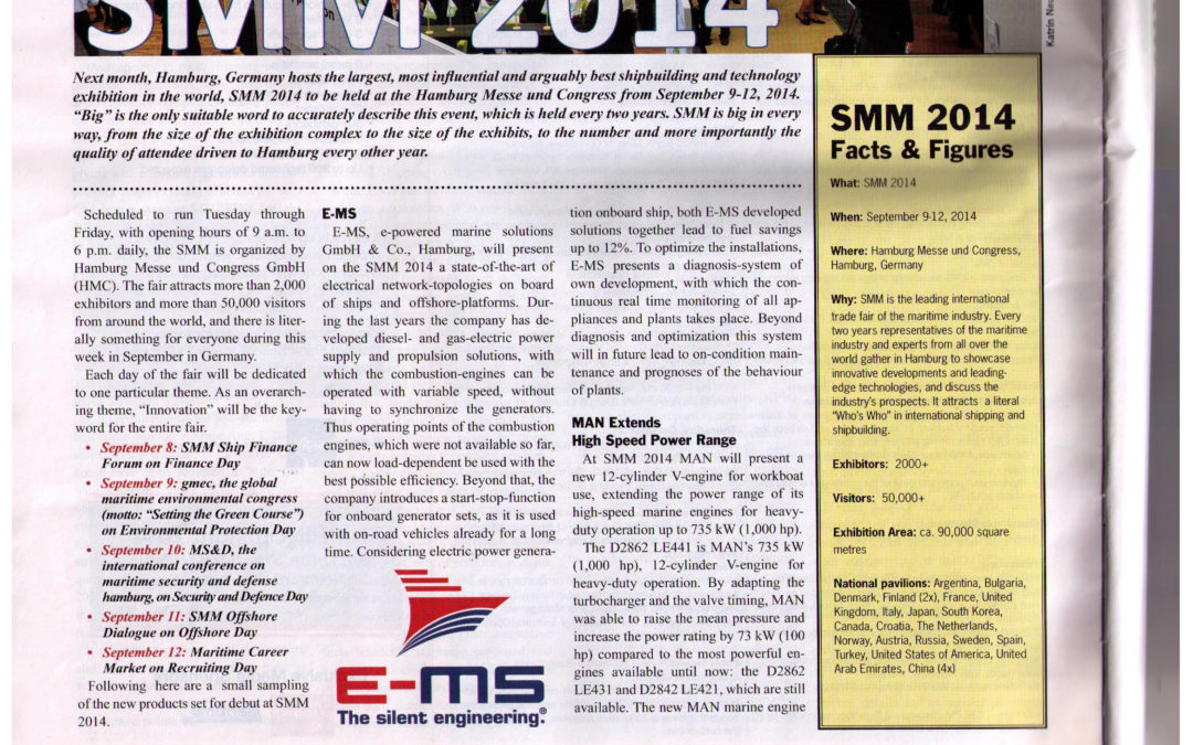 E-MS at SMM 2014