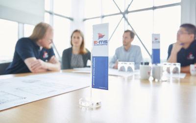 Personalmanagement bei E-MS: Groß genug für professionelle Strukturen – überschaubar genug für individuelle Förderung