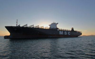 Erfolgreicher Einstieg in die Scrubber-Technologie – Nachrüstung von vier Containerschiffen