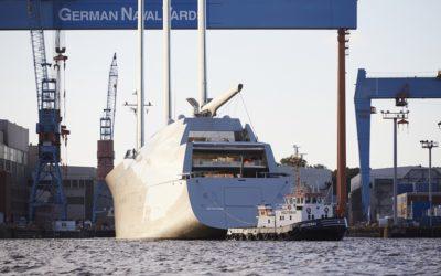 """Stromerzeugung auf der """"Sailing Yacht A"""""""