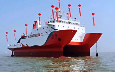 Successful entry into the Chinese shipbuilding market